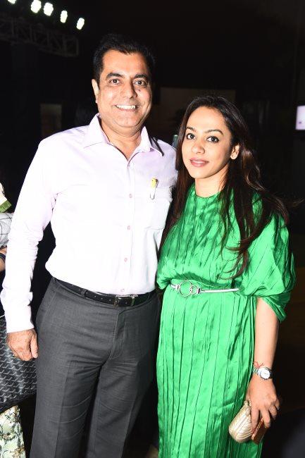 Sanjay and Manisha Bhatia
