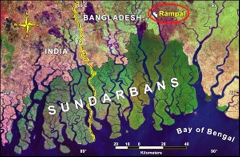 Image result for Coal power plant pollution in the sundarbans