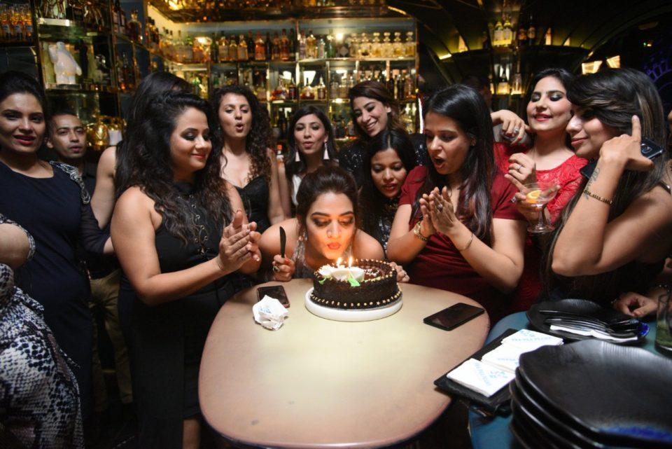 Supriya Nagpal with Friends