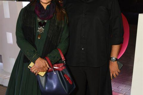 Designer Anju Modi and Designer Amit Aggarwal