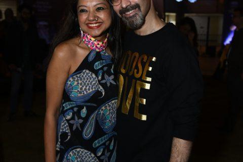Designer Anupamaa Dayal and Stylist Rishi Raj
