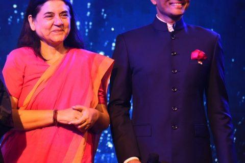 Indian Politician Smt. Maneka Gandhi & Industrialist Naveen Jindal