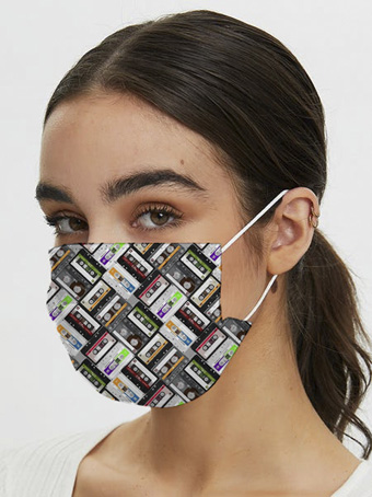 Samshek presents Iconic face mask inspired from the 70's animation pop