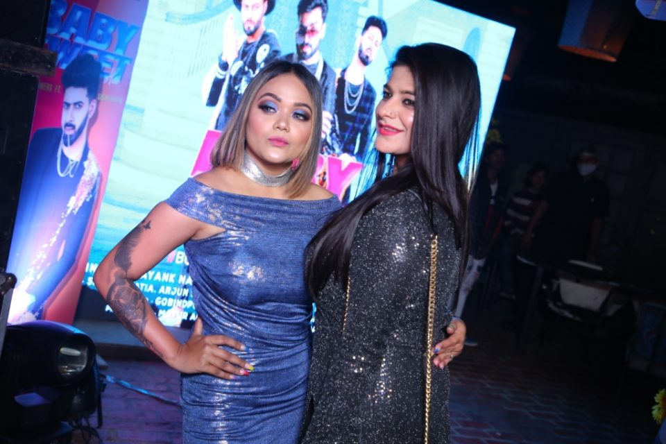 Unveiling 'Baby sweet Hai' Rap Song in a Gala Event
